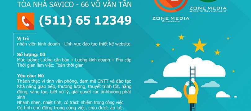 Zone Media Education - Tuyển dụng 2014 – Kinh doanh đào tạo công nghệ thông tin